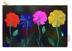 Carry-all Pouch featuring the photograph The Garden by Paul Wear