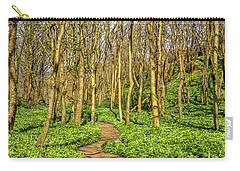 The Garlic Forest Carry-all Pouch by Roy McPeak