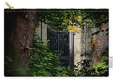 Carry-all Pouch featuring the photograph The Gate by Jeremy Lavender Photography