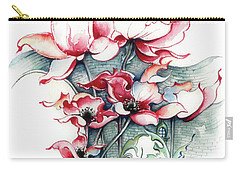Carry-all Pouch featuring the painting The Gateway To Imagination by Anna Ewa Miarczynska