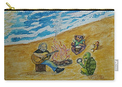 Carry-all Pouch featuring the painting The Gathering by Thomasina Durkay