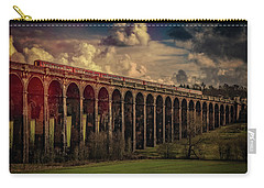 Carry-all Pouch featuring the photograph The Gatwick Express by Chris Lord