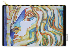 The Gaze - Inspired By Tullio Lombardo, 1460-1532 Carry-all Pouch