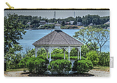 Carry-all Pouch featuring the photograph The Gazebo by Tom Prendergast