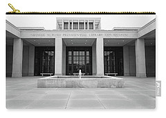 The George W. Bush Presidential Library And Museum  Carry-all Pouch by Robert Bellomy