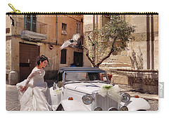 The Runaway Bride.taranto. Italy Carry-all Pouch by Jennie Breeze