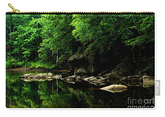 The Ghost Hole Williams River Carry-all Pouch by Thomas R Fletcher