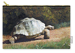 The Giant Tortoise Is Walking Carry-all Pouch