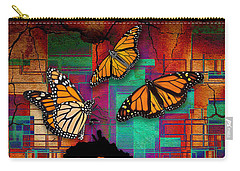 Carry-all Pouch featuring the mixed media The Gift Of Life by Marvin Blaine