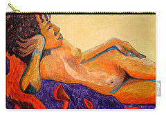 Carry-all Pouch featuring the painting The Girl From Ipanima by Esther Newman-Cohen