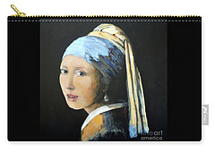 The Girl With The Pearl Earring  Carry-all Pouch