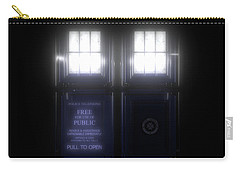 The Glass Police Box Carry-all Pouch