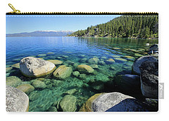 Carry-all Pouch featuring the photograph The Glory Of Morning by Sean Sarsfield