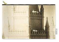 Carry-all Pouch featuring the photograph The Glory Of The Lord Shone Round About by Greg Collins