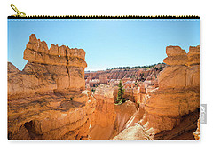 Carry-all Pouch featuring the photograph The Glowing Canyon by Margaret Pitcher