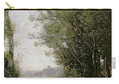 The Goatherd Beside The Water  Carry-all Pouch