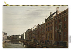 The Golden Bend In The Herengracht, Amsterdam, Seen From The West, 1672 Carry-all Pouch