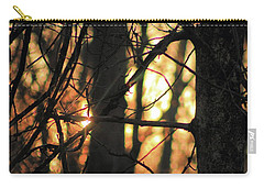 Carry-all Pouch featuring the photograph The Golden Hour by Bruce Patrick Smith