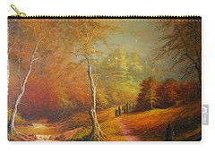 Golden Forest Of The Elves Carry-all Pouch