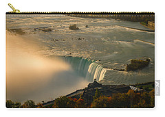 The Golden Mist Of Niagara Carry-all Pouch