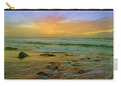 Carry-all Pouch featuring the photograph The Golden Moments On Molokai by Tara Turner