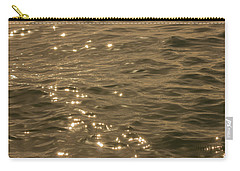 Carry-all Pouch featuring the photograph The Golden Ocean by RKAB Works