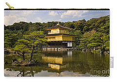 The Golden Pagoda In Kyoto Japan Carry-all Pouch