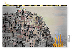 The Golden Sails Carry-all Pouch by Mojo Mendiola