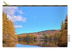 Carry-all Pouch featuring the photograph The Golden Tamaracks Of Woodcraft Camp by David Patterson
