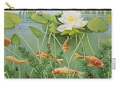 The Golden Touch Carry-all Pouch by Pat Scott