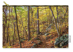 Carry-all Pouch featuring the photograph The Golden Trail by Lori Coleman