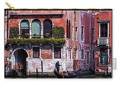 the gondola ride on the many canals of Venice Carry-all Pouch