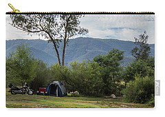 Carry-all Pouch featuring the photograph The Good Life by Linda Lees