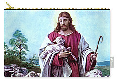 The Good Shepherd 1878 Bernhard Plockhorst Carry-all Pouch