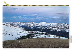 The Gore Range At Sunrise - Rocky Mountain National Park Carry-all Pouch