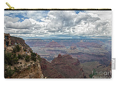 Carry-all Pouch featuring the photograph The Grand Canyon And Lookout Studio by Kirt Tisdale