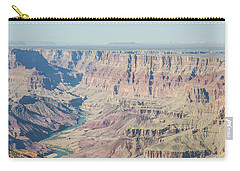 Carry-all Pouch featuring the photograph The Grand Canyon by Margaret Pitcher