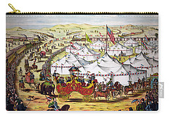 The Grand Layout, Chromolithograph 1874 Carry-all Pouch