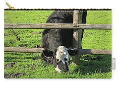Carry-all Pouch featuring the photograph The Grass Is Always Greener by Art Block Collections
