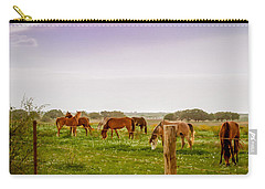 Carry-all Pouch featuring the photograph The Grass Was Greener by Melinda Ledsome
