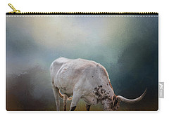 The Grazing Texas Longhorn Carry-all Pouch