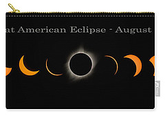 The Great American Eclipse Of 2017 Carry-all Pouch