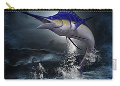 The Great Blue Marlin Carry-all Pouch
