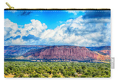 Carry-all Pouch featuring the photograph The Great Divide by AJ Schibig