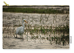 The Great Egret  Ardea Alba Syn  Casmerodius Albus  Carry-all Pouch