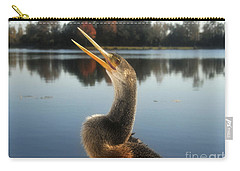 The Great Golden Crested Anhinga Carry-all Pouch by David Lee Thompson