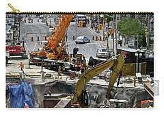 Carry-all Pouch featuring the photograph The Great Ottawa Sink Hole by Stephanie Moore