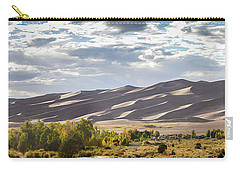 Carry-all Pouch featuring the photograph The Great Sand Dunes Triptych - Part 1 by Tim Stanley