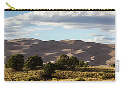 Carry-all Pouch featuring the photograph The Great Sand Dunes Triptych - Part 2 by Tim Stanley