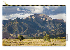 Carry-all Pouch featuring the photograph The Great Sand Dunes Triptych - Part 3 by Tim Stanley